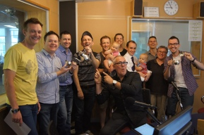 The final show and a photo with the extended Andy & Adrian Family.