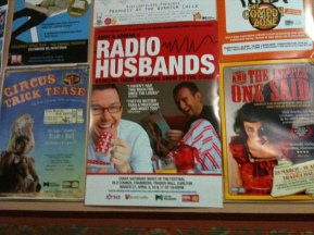 Posters for the Melbourne International Comedy Festival show.